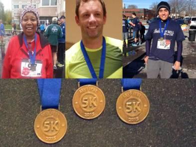 my first 5k, 5k medals