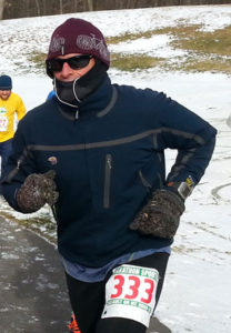 preventing windburn, winter running