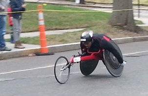 wheelchair, boston marathon 2015