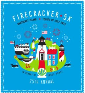 Fire Cracker 5K race, Nantucket