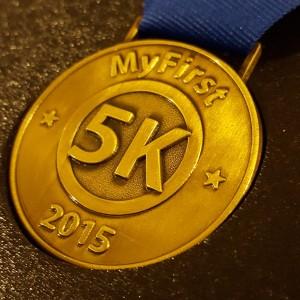 #1st5K, 5K medals