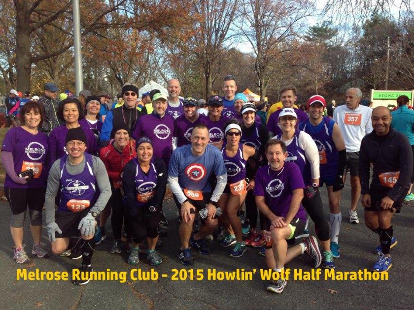 Howlin Wolf Half Marathon, Melrose Running Club