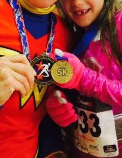 spooky sprint 5k, my first 5k medal, #first5k