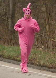 Easter Bunny, big long run