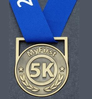 My First 5K Medal