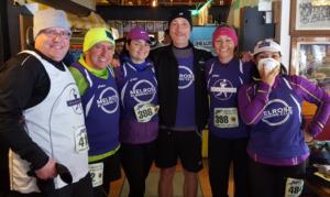 April Fools 4 miler, Melrose Running Club