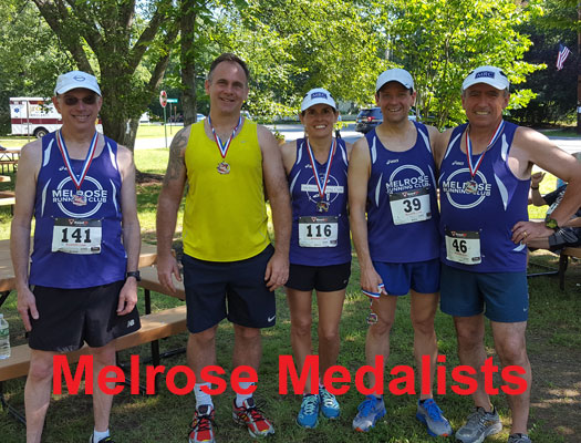 Melrose Running Club, Jennifer Tinney Road Race 2017, medalists