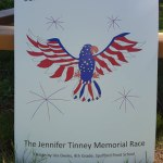 Jennifer Tinney Road Race Logo