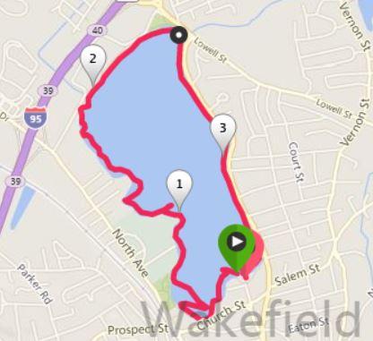 lake quannapowitt, kayaking, boating in Boston