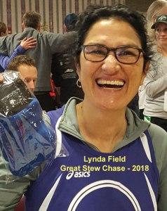 Lynda Field, 15K Great Stew Chase 2018, Melrose Running Club