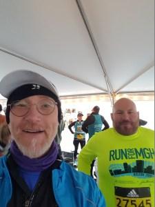 My 2018 Boston Marathon Experience, Brian Sohns, MGH