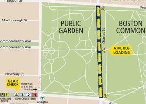 Boston Marathon 2018 Bus Loading Area, My 2018 Boston Marathon Experience