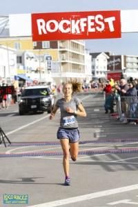 Heidi Caldwell, Smuttynose Rockfest Half Marathon Winner 2018