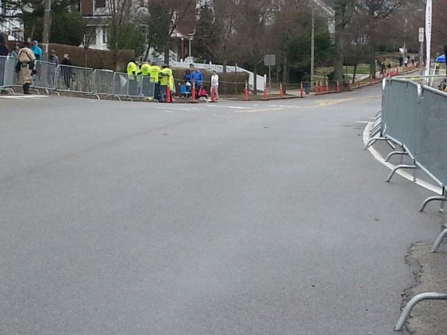 Boston Marathon 2015, Mile 20 Hill