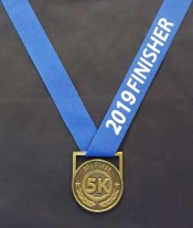 5k running medals, first time runners