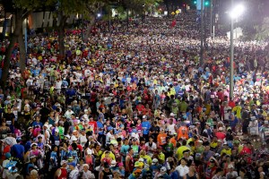 Honolulu Marathon Start
