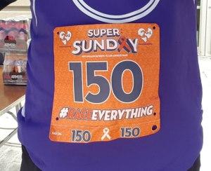 Race Bib Tape, Super Sunday 5 Miler