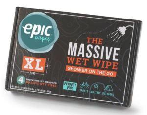 Epic Wipes XL, Massive Wet Wipe