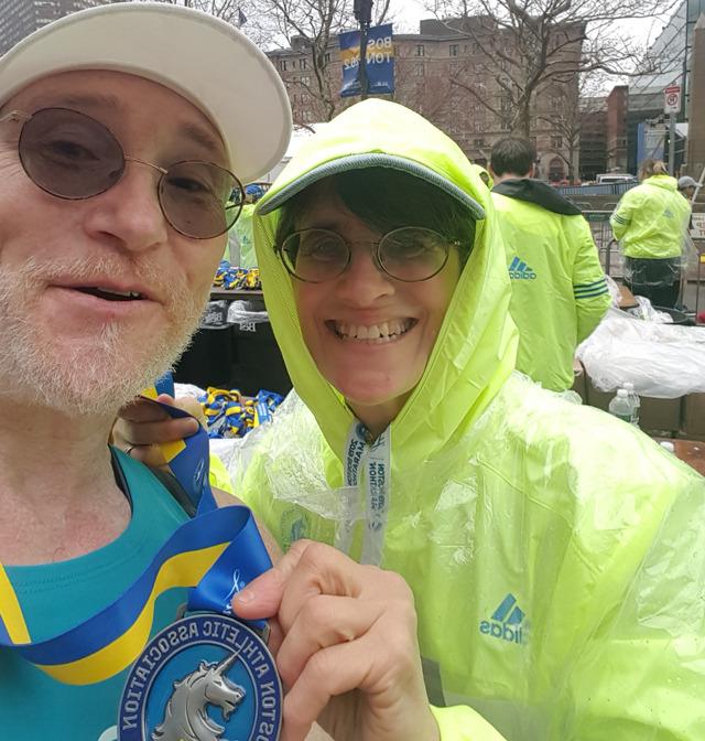 Boston Marathon 2019 Finishers Medal
