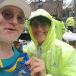 Boston Marathon finishers medal