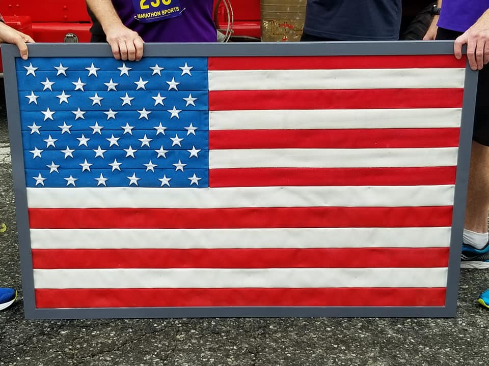 American Flag, Melrose Fire Fighters 5K