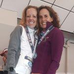Megin Hemmerling; Cynthia Berger; Harborside Half Marathon