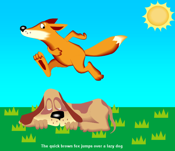 Ever Hear the One about the Quick Brown Fox that Jumped Over the Lazy Retailer?