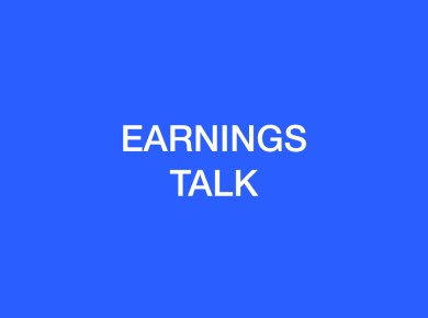 Earnings Talk