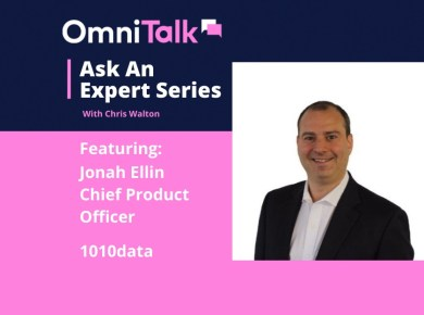 Jonah Ellin, 1010data CPO on Omni Talk Ask An Expert Series