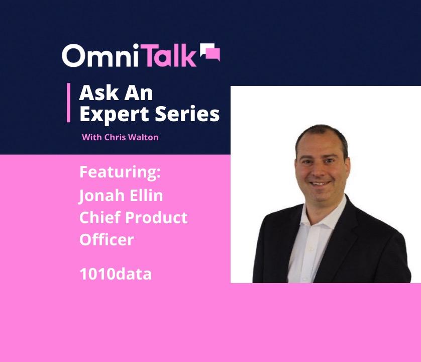 Jonah Ellin, 1010data CPO on Omni Talk Ask An Expert Series