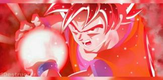 New form Goku red