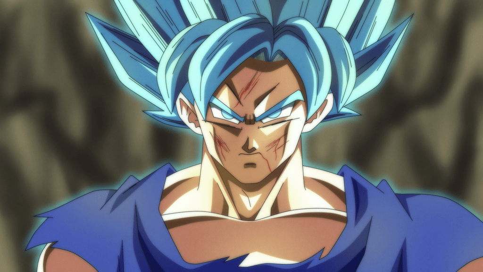 Resultado de imagen para super saiyan blue full power