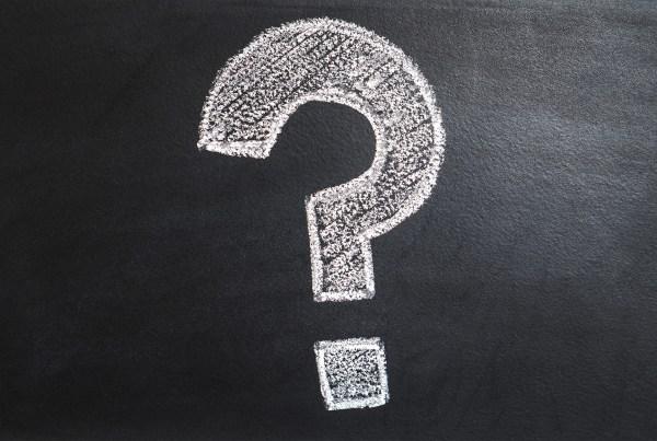question mark point d'interrogation