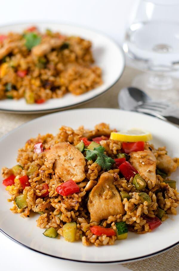 Thai Curry Chicken Fried Rice | Omnivore's Cookbook