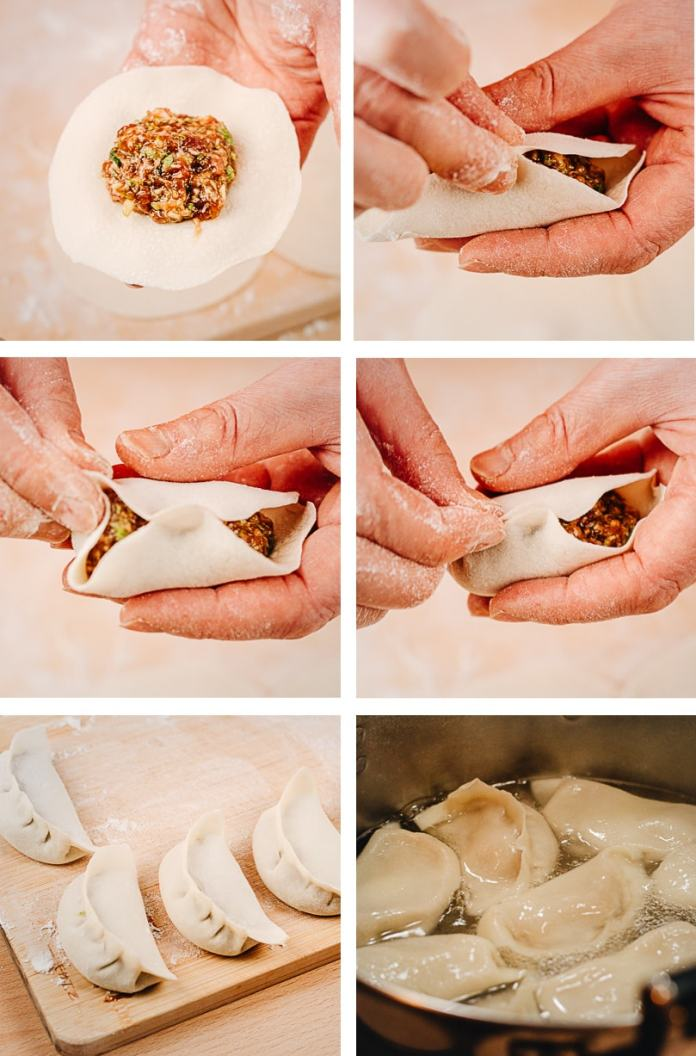 How to wrap dumplings