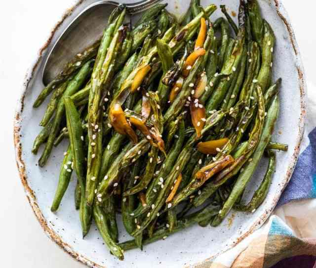 Try Out This Oven Roasted Green Beans Recipe For Thanksgiving This Year And Say Goodbye To