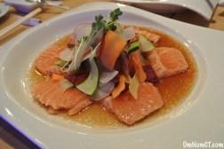Salmon Confetti Salad Matsu Sushi Westport OmNomCT