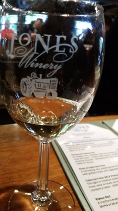A wine tasting at Jones Winery in Shelton CT