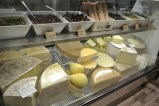Just some of the cheese available at Greenwich Cheese Company