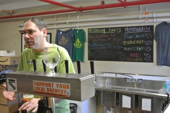 Mark Sigman, owner and brewmaster at Relic Brewing in Plainville CT