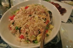 Lobster Fried Rice at WUJI in Greenwich, CT