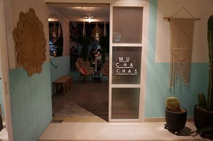 Muchachas Entrance