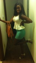 Heading to GrandLux for Erica's Bday