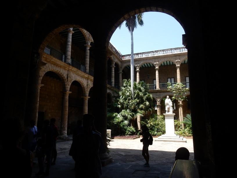 Arquitetura peculiar em Havana