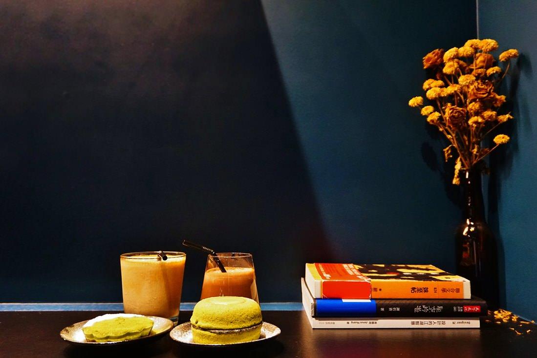 """【台北松山美食】La Chaudière Coffee 樂初咖啡    民生社區咖啡館""""抹茶甜甜圈蛋糕"""