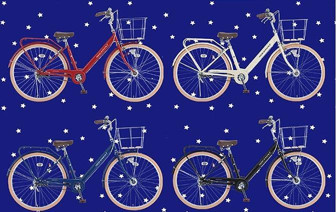 女の子自転車