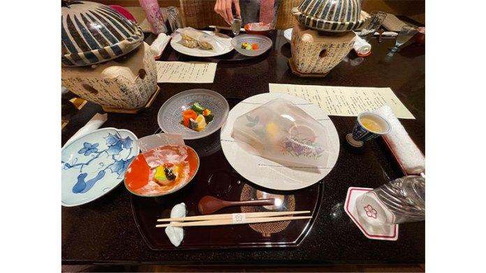 武蔵野別館 箱根 食事 夕食