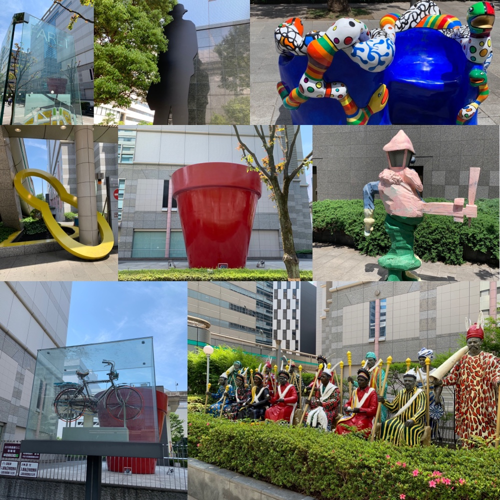 FARET Tachikawa Art – 109 sculptures in public outdoor area in the city