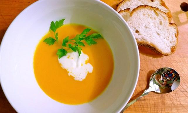 carot-soup