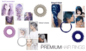cover hair rings